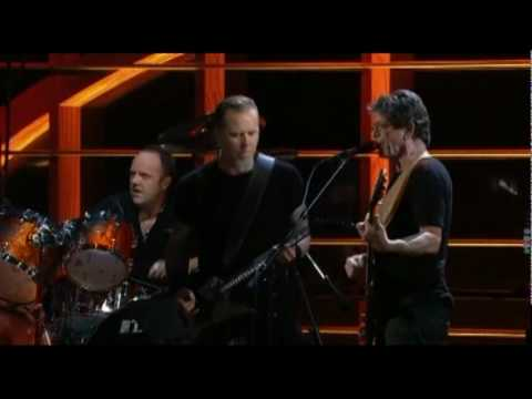 Metallica Sweet Jane (w/ Lou Reed) live at MSG Rock & Roll Hall of Fame 2009