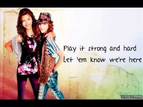 Belle Thorne and Zendaya - Roll the Dice (with lyrics)